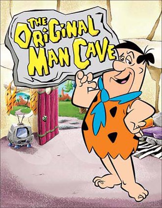 Tin Sign - The Flintstones - The Original Man Cave