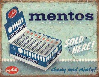 Tin Sign - Mentos - Sold Here