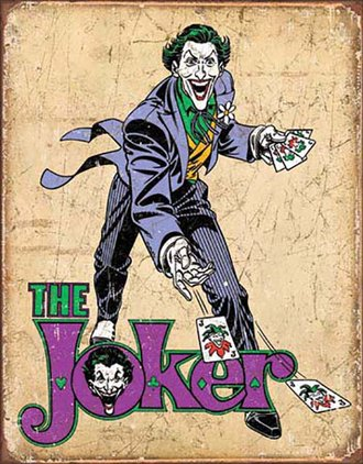 Tin Sign - Batman - The Joker