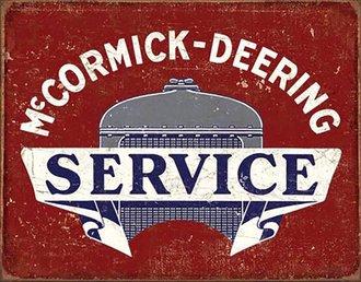 Tin Sign - McCormick-Deering Service
