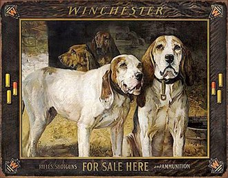Tin Sign - Winchester - For Sale Here