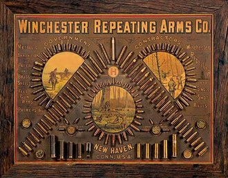 Tin Sign - Winchester - Repeating Arms