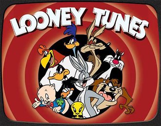 Tin Sign - Looney Tunes Family