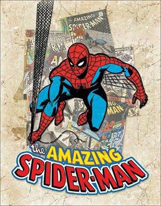 Tin Sign - Spider-Man - Cover Splash
