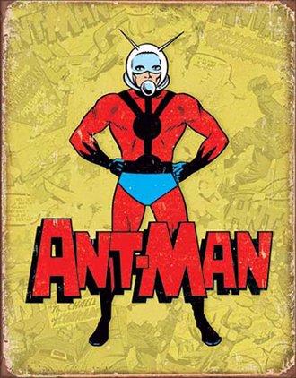 Tin Sign - Ant-Man (Retro)