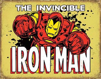 Tin Sign - The Invincible Iron Man