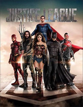 Tin Sign - Justice League Movie
