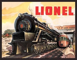 Tin Sign - Lionel Catalog Cover