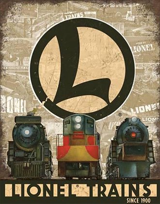 Tin Sign - Lionel Legacy