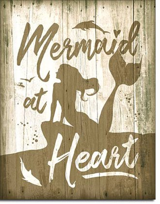 Tin Sign - Mermaid at Heart