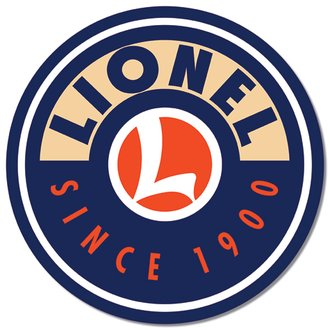 Tin Sign - Lionel Logo (Round)