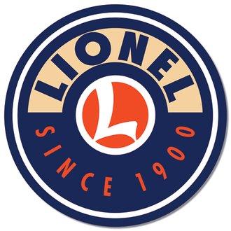 Tin Sign - Lionel Logo (Round)
