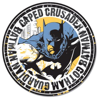 Tin Sign - Batman - Gotham Guardian (Round)