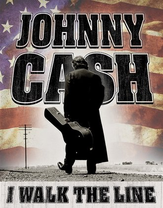 Tin Sign - Johnny Cash - Walk the Line