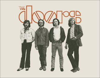 Tin Sign - The Doors - The Band