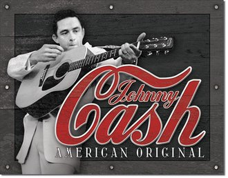 Tin Sign - Johnny Cash - American Original