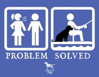Tin Sign - Problem Solved