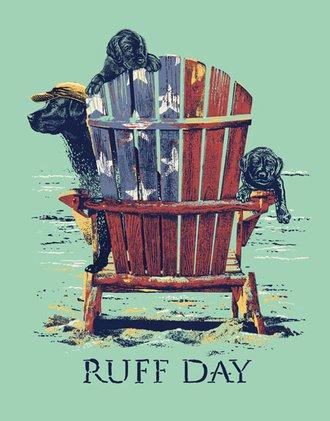 Tin Sign - Ruff Day