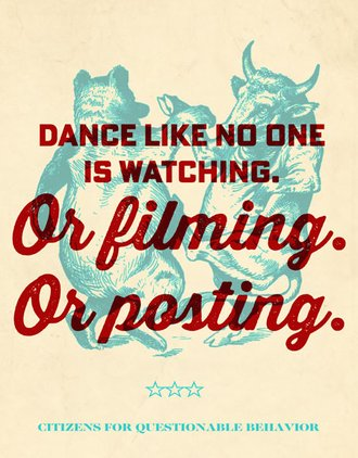 Tin Sign - Dance Like No One is Watching…