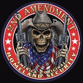 Tin Sign - 2nd Amendment - America's Original Homeland Security