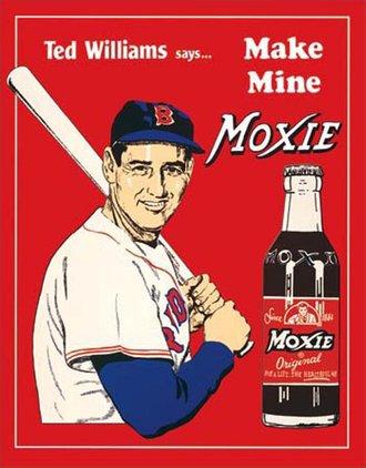 Tin Sign - Ted's Moxie
