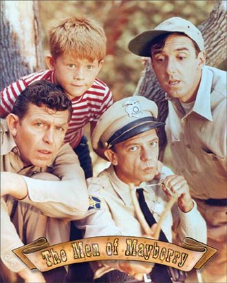 Tin Sign - Andy Griffith - Men of Mayberry