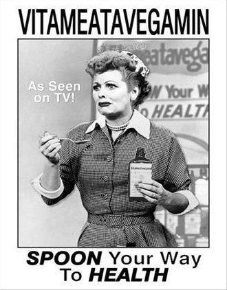Tin Sign - Lucy - Vitameata