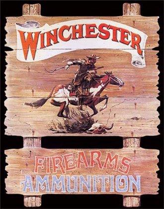 Tin Sign - Winchester - Express Rider