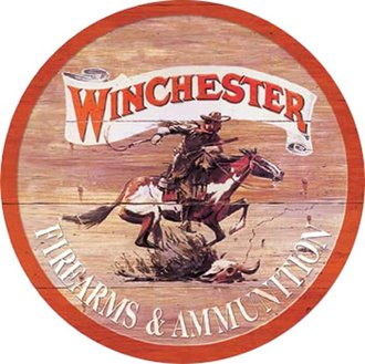 Tin Sign - Winchester - Express (Round)