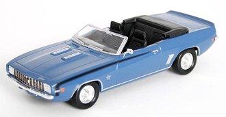 1969 Chevy Camaro SS Convertible (Blue)