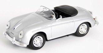 1959 Porsche 356A Convertible (Silver)
