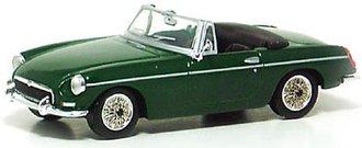1962 MGB Type GT Convertible (Green)