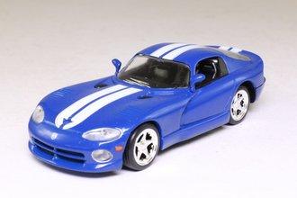 1:43 1996 Dodge Viper (Blue w/White Stripes)