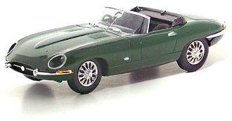 1961 Jaguar E Type Convertible (Green)