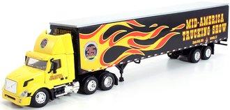 "1:64 Volvo 300 Day Cab w/Van Trailer ""2006 Mid-America Truck Show"""