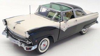 1955 Ford Fairlane Crown Victoria (Black/White)