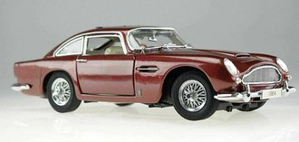 1964 Aston Martin DBS (Burgundy Metallic)