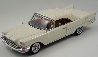 1957 Chrysler 300C Convertible (White)