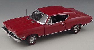 1968 Chevrolet Chevelle SS-396 (Red)