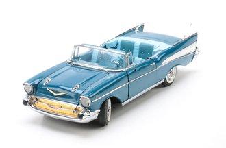 1957 Chevrolet Bel-Air Convertible (Blue)