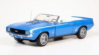 1969 Chevrolet Camaro SS (Blue)