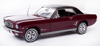 1966 Ford Mustang Coupe (Dark Red)