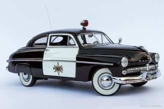 1949 Mercury Police Cruiser (Black/White)