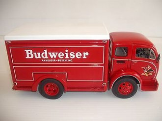 "1955 Delivery Truck ""Budweiser"" (Red) *** No Certificate ***"