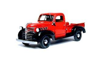 1941 Dodge Pickup (Red w/Black Fenders)