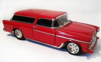 1955 Chevrolet Nomad Street Machine (Red)
