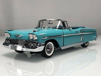 1958 Chevrolet Impala Convertible (Turquoise)