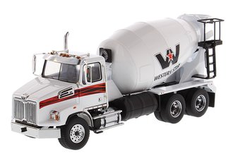1:50 Western Star 4700 Concrete Mixer (White)