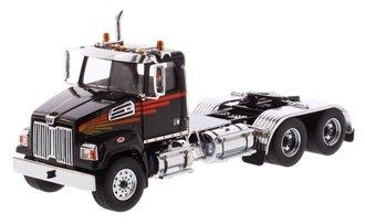 1:50 Western Star 4700 SF Tandem Tractor (Black)