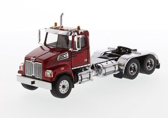 1:50 Western Star 4700 SF Tandem Tractor (Red)